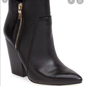 BCBGeneration JULES POINTY TOE LEATHER BOOTS